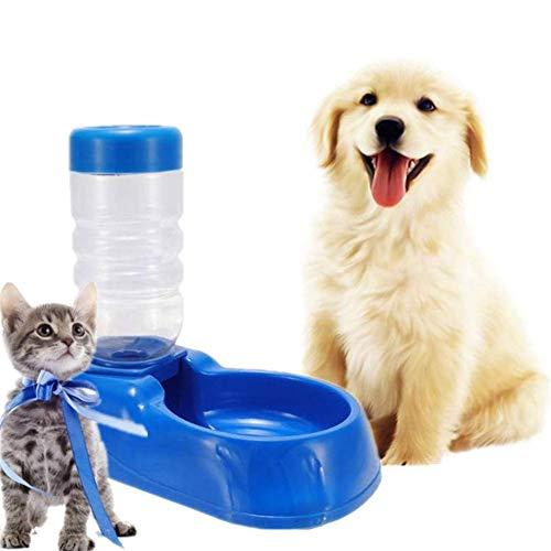 HAITOY - Taza de Viaje para Mascotas para Exteriores, dispensador de Agua para Perros, comedero automático para Perros, comedero para Mascotas pequeñas y Medianas, Botella de Agua