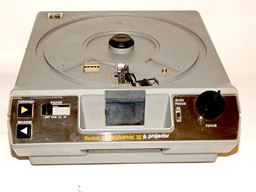 Kodak Ektagraphic III ATS Slide Projector with Built in Slide Viewer