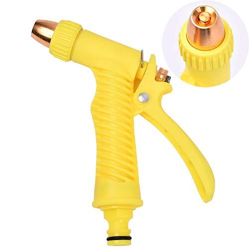 Buitendouche, Handdouche Multi Brause Tuinslang Spuitpistool Douche Pistool voor Irrigatie, Autowassen, Huisdieren Wassen, Huishouden,Yellow