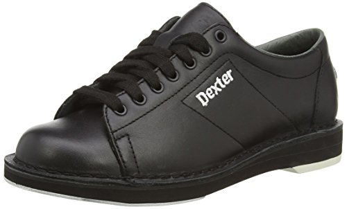 DEXTER Herren SST I Bowlingschuhe, schwarz-schwarz, US 10, UK 8.5