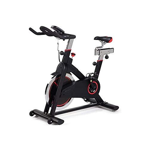 KDKDA Girar la Bici, Inmóvil Cubierta Ciclo de la Bici, la Bicicleta estática, Monitor LCD, Asiento Ajustable y Manillar