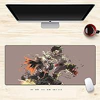 My Hero Academia 我的英雄学院 僕のヒーローアカデミア大型鼠标垫 桌布 动漫 人气角色 游戏桌子 防滑 可爱 键盘垫-900X400X3MM-A_900*400*3MM