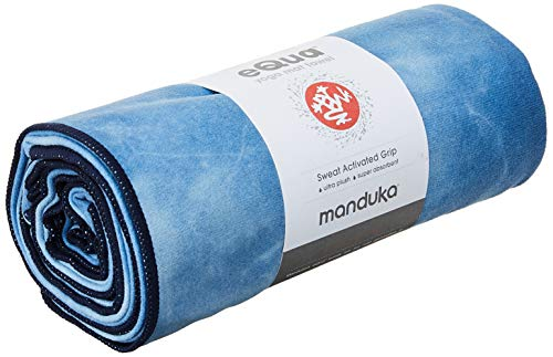 Manduka eQua Toalla de yoga (Camo Tie Dye Blues)