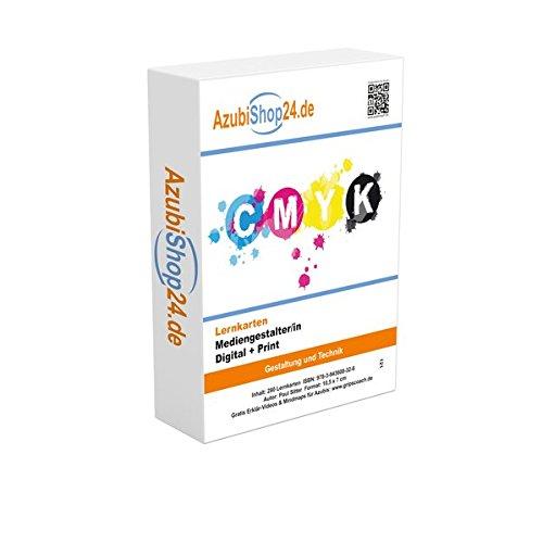 Prüfungswissen Mediengestalter digital + print Lernkarten: Prüfung Mediengestalter digital + print Lernmittel