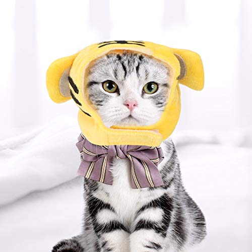 【2021 Promoción de año Nuevo】 Sombrero para Gato, Sombrero para Disfraz de...