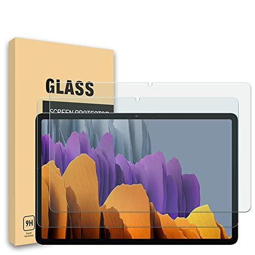 YISPIRIN(2 Piezas) Cristal Templado par Samsung Galaxy Tab S7 Plus 12.4