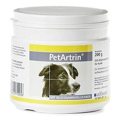 Pet Artrin 200 gramm Diät-Ergänzungsfuttermittel zur Unterstützung des Gelenkstoffwechsels bei Osteoarthritis hochkonzentriertes Pulver versorgt die Gelenke