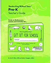 Handwriting Without Tears: Get Set for School Teacher's Guide (Pre-K)