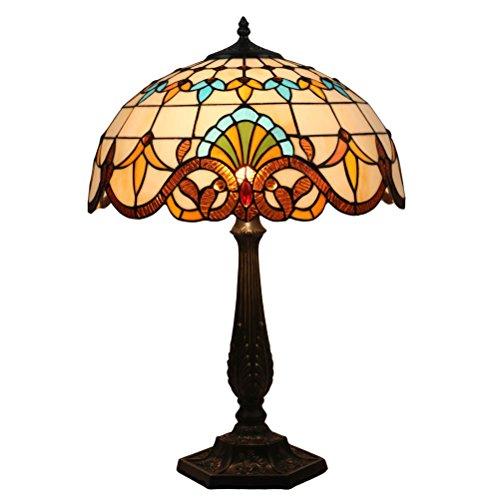 Fabakira Tiffany Bar Lounge Lampe Antiquitäten Glasmalerei Vintage Style Glas minimalistischen barocken Grille