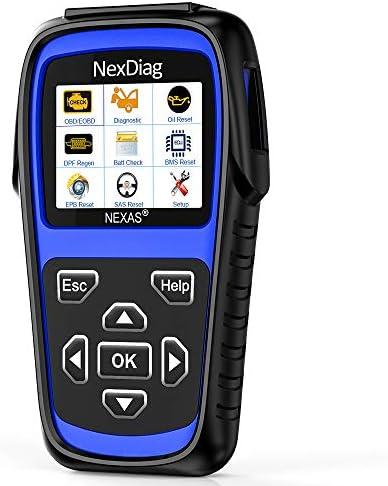 NEXAS Auto Code Reader for Land Rover Jaguar ND602 OBD EOBD Diagnostic Scanner Enhanced Oil product image