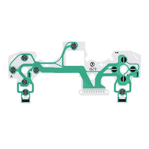 Socobeta Tragbarer hochempfindlicher leitfähiger Folienersatz Korrosionsschutz 10-teilig Kompatibel mit PS4-Controller