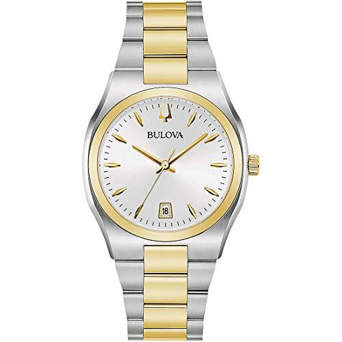 Bulova Surveyor - Reloj de pulsera para mujer, diseño clásico, cód. 98M132