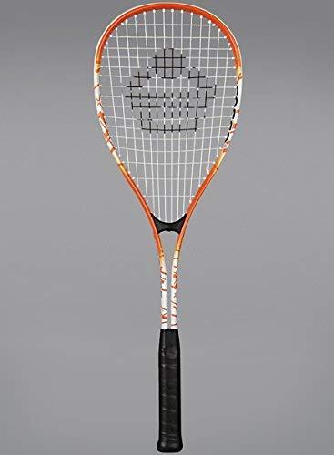 Cosco LST 125 Aluminium Squash Racquet (White/Orange)