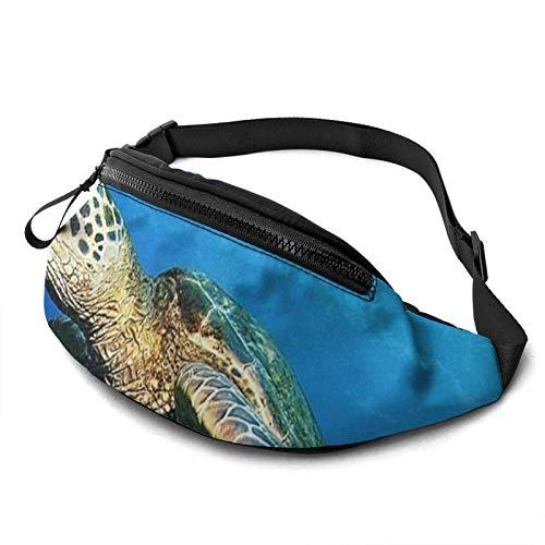 Fantastic Fairy U-Boot-Schildkröte unter dem Meer Taille Pack/Gürteltasche/Reisetasche für Männer Frauen im Freien Sport Marathon Wandern