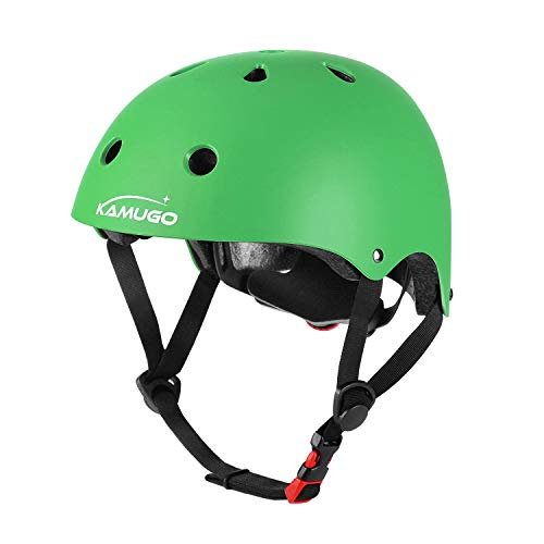 KAMUGO Kids Adjustable Helmet, Suitable for Toddler Kids Ages 3-14 Boys Girls, Multi-Sport Safety Cycling Skating Scooter Helmet