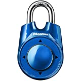 Master Lock 1500iD Locker Lock Set Your Own Directional Combination Padlock, Assorted Colors, 1 Pack