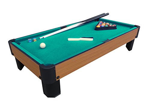 """Playcraft Sport Bank Shot 40"""" Pool Table with Green Cloth"""