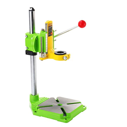 TopDirect Multifunction Benchtop Drill Press Floor Drill Stand Table for Drilling Collet, Drill Press Table, Table Top Drill Press, 38-43mm