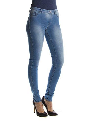 Carrera Jeans - Jeggings per Donna, Look Denim, Tessuto Elasticizzato IT L