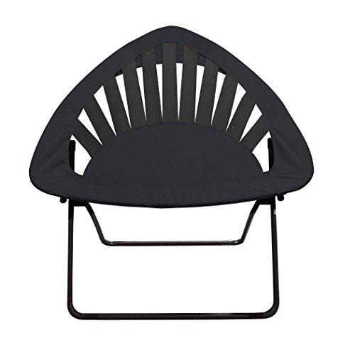 Impact Canopy 0460040002VC Folding Bungee Chair, Black