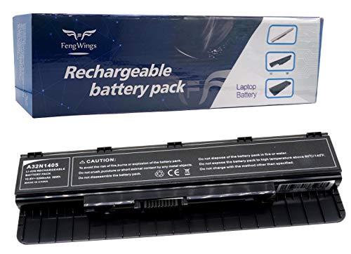 FengWings Akku A32N1405 108V 5200mAh Ersetzen Batterie Kompatibel mit ASUS G551JX GL551JW GL551JX G771JW GL771JM GL771JW G58JM G58JW N551JB N551JW N551JX N551Z N751JK N751JX Akku