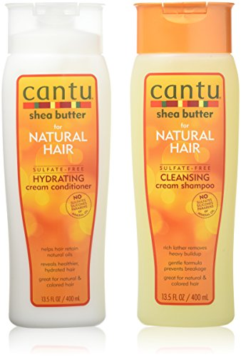 Cantu Shea Butter for Natural Hair Double Combo Shampoo and Conditioner