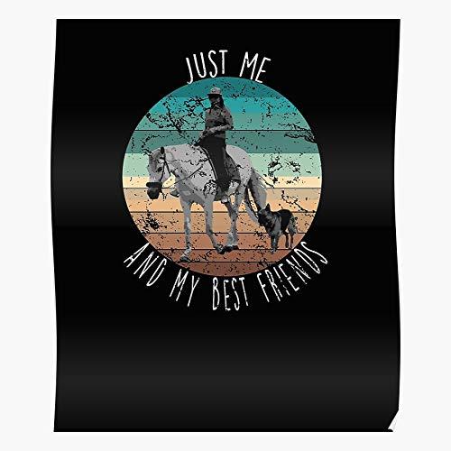 Jumper Hunter Ottb Best Mustang Quarter Doma amigo caballo decoración del hogar Wall Art Poster