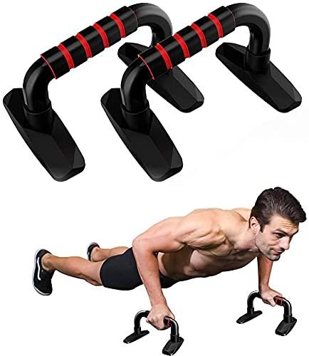 Soporte para Flexiones, con Antideslizante para Fitness, Gimnasia, Entrenamiento de Pecho, Accesorios para el hogar y el Gimnasio