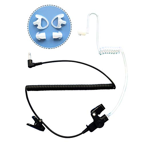 Best Deals! EARSINGER Listen only earpiece 3.5mm Earbud Acoustic Tube Audio Kit Headset Quality and ...