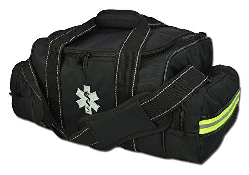 Lightning X Grand EMT Medic First Response EMS Sac de traumatisme tactique avec intercalaires Noir