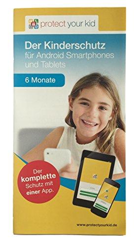 Protect Your Kid Lizenz für 6 Monate - Android Kindersicherungs App, Kinderschutz für Handy, Smartphone und Tablet
