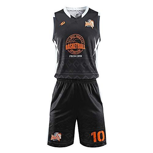 LHDDD NBA Abbigliamento Basket Maglia da basket americana da uomo Miami New York Completo da basket completo senza maniche Gilet Pantaloncini