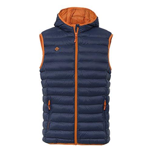 IZAS ortil, Gilet pour Homme XXXXL Bleu/Orange (Blue Moon/Orange)