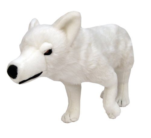 Factory Entertainment Game of Thrones Ghost Direwolf Plush