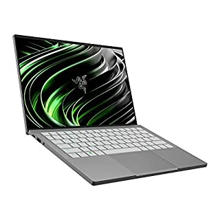 Razer Book 13 - Ultra Light Laptop for on the Go with 13.4 Inch Full HD 60 Hz Touchscreen (Intel Core i7 11th Gen, Iris Xe Graphics, 10 Hours Battery Life) Mercury / White   Qwerty UK Layout (B08N1F9Z8B)   Amazon price tracker / tracking, Amazon price history charts, Amazon price watches, Amazon price drop alerts