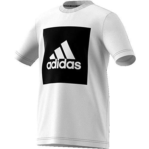adidas Jungen Must Haves T-Shirt, White/Black, 110