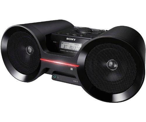 Sony ZSBTY50 Portable NFC Bluetooth Wireless Boombox Speaker System