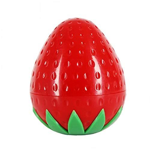 Fruit Forme Crème Bouteille multi Utilisation Mignon pot cosmétique Belle Lotion Container Bouteille vide Pot (fraise)