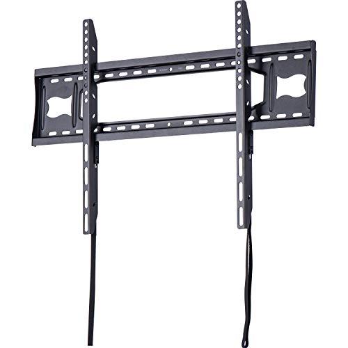 """AmazonBasics - Soporte de pared plano con riel, para televisión, de 127 a 215,9 cm (50-85\""""), gama Essentials"""