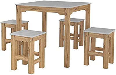 Amazon Com Zinus Juliet Espresso Wood Dining Table With