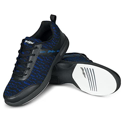 KR Strikeforce Herren Mens Shoes-Black/Royal 10 1/2 Flyer Mesh Lite Bowling-Schuhe, Schwarz/Königsblau 26, 44 EU