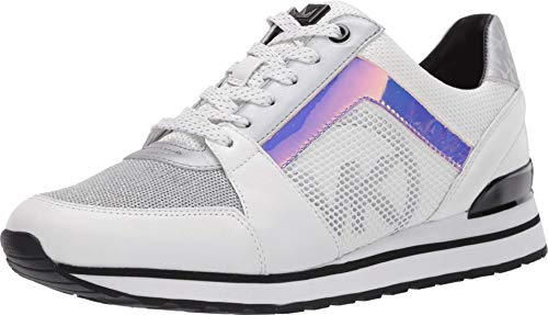 Sneakers Mujeres MICHAEL KORS 43R0BIFS1L Billie Cuero Tejido Blanco