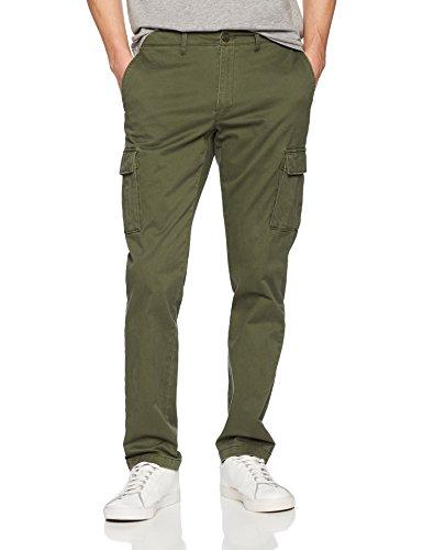 Goodthreads Slim-fit Cargo Pant Pants, Verde (deep depth/olive), 35W x 28L (Talla del fabricante:):)