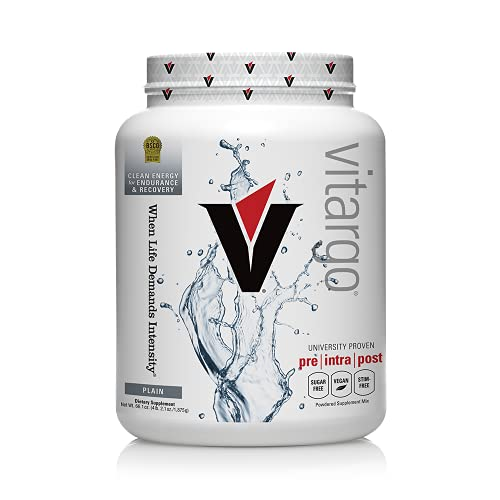 Vitargo Carb Powder Supplement   2X Faster Muscle Fuel   4.4 LB Unflavored Pre Workout & Post Workout   Carbohydrate Powder for Recovery, Endurance, Gain Muscle Mass
