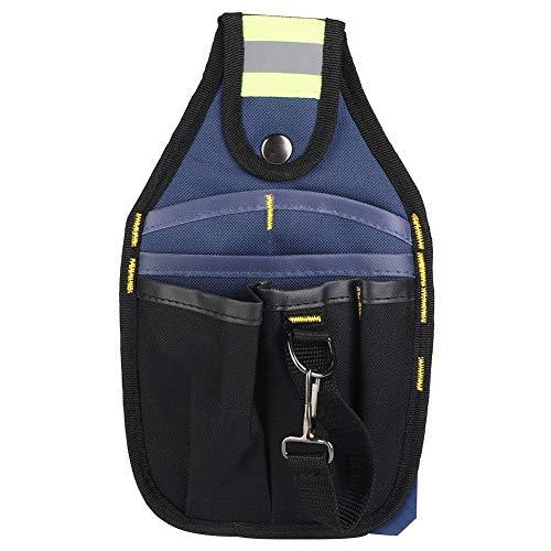 VIFERR Multi-Tamaño Oxford Tela Jardinería Herramienta Cinturón de Cintura Bolsa/Bolsa de Herramientas del Electricista Organizador (tamaño : 3 Layers 6 Pockets)