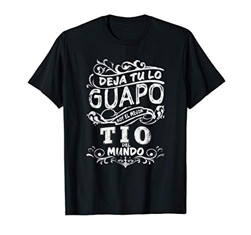 Hombre camisa de Hombre el Mejor Tio del Mundo para Dia del Padre Camiseta