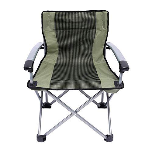 ZHAS Sillas de Camping de Gran tamaño Moon Round Chair Saucer Recliner Ergonomic High Back Support 260lbs Silla Plegable Outdoor Beach/Hiking/Fishing/Camping Sillas de Concierto con