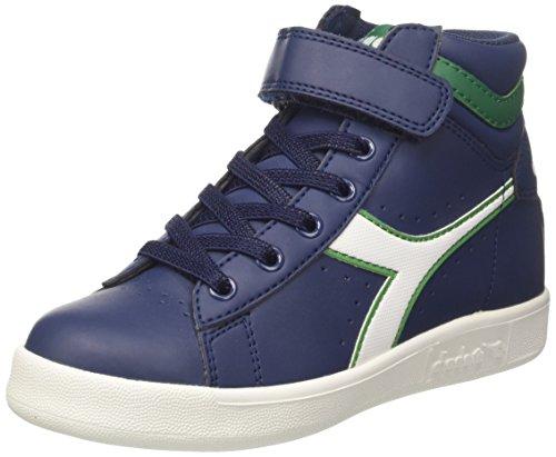 Diadora Game P High Jr, Sneaker a Collo Alto Bambino, Blu (Blu Estate/Bianco), 31 EU