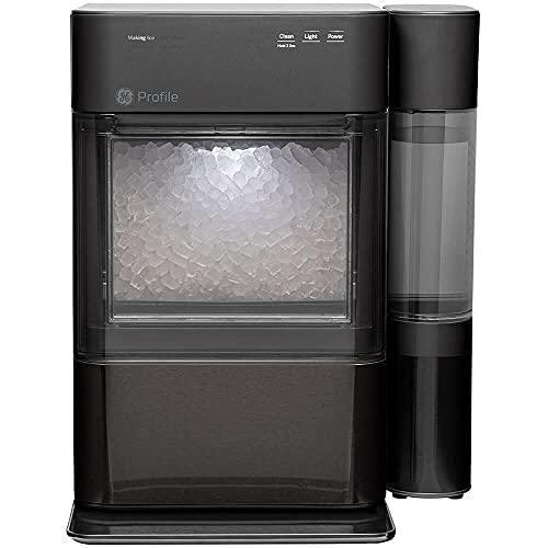 GE Profile XPIO13BCBT / XPIO13BCBT / XPIO13BCBT Opal 2.0 Black Stainless Nugget Ice Maker