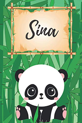 Sina personalisiertes Notizbuch Panda /...
